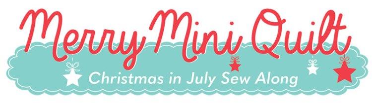 Merry Mini Quilt @ Fat Quarter Shop