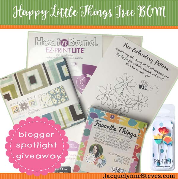 Happy Little Things giveaway @ Jacquelynne Steves