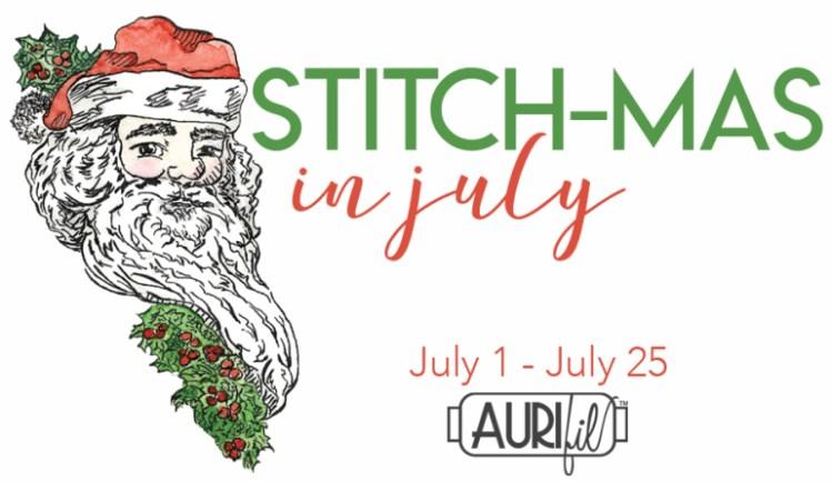 Stitch-mas in July @ Aurifil .