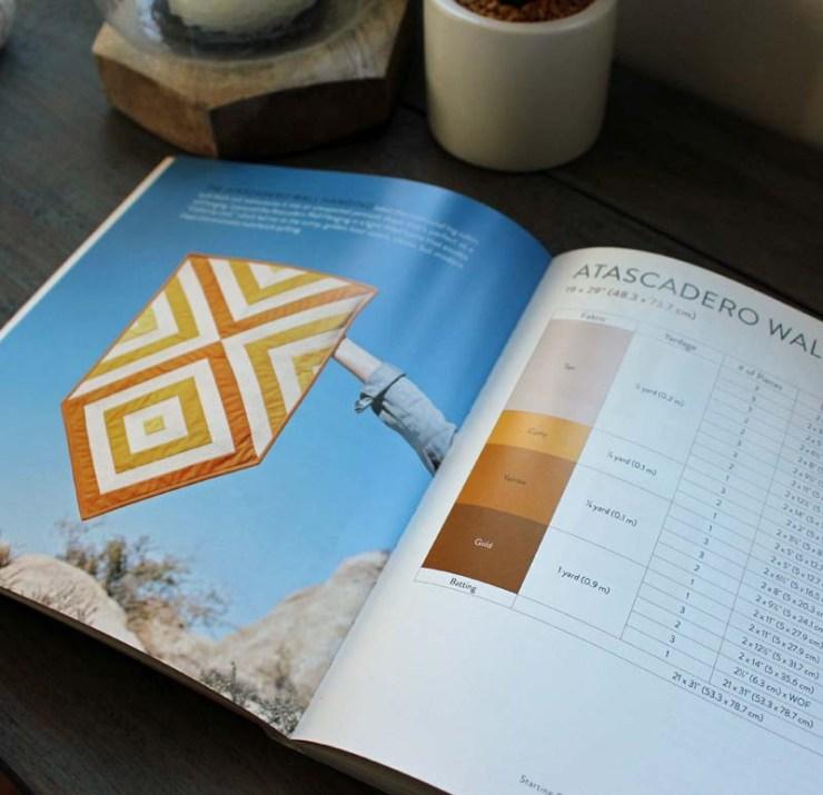 Simple Geometric Quilting, a book review by Julie Cefalu @ The Crafty Quilter