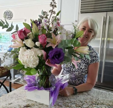 36 years of marriage deserves a beautiful bouquet of flowers!