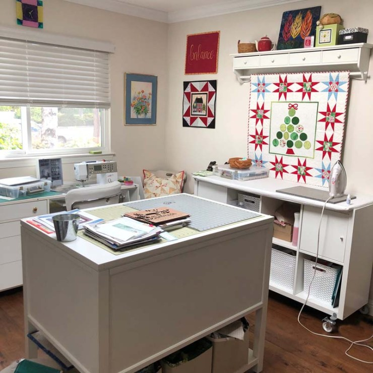Sewing Room clean up @ The Crafty Quilter