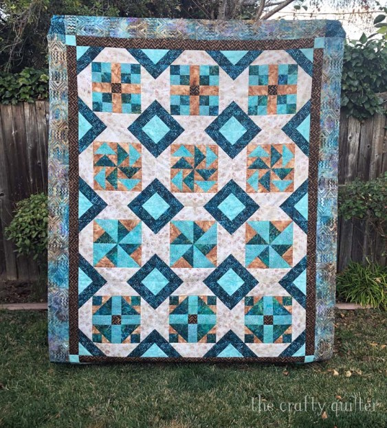My recent quilt projects include my Possibilities Quilt, designed by me, Julie Cefalu.