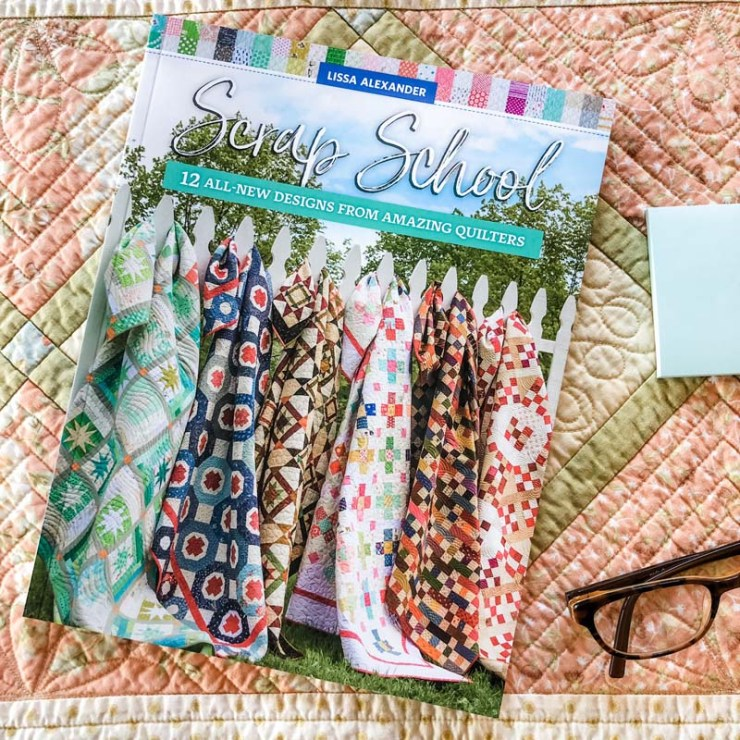 Scrap School compiled by Lissa Alexander is a great book to help you use up your scraps!