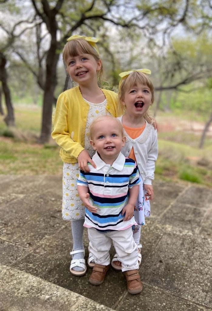 Cutbirth children, Easter 2021.