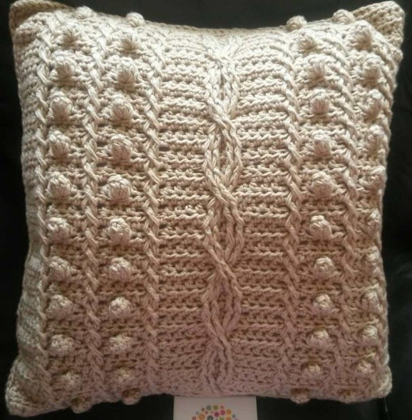 Cablesnbobbles Cushion