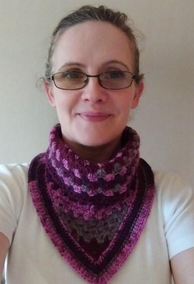 Janferie MacKintosh the crochet designer who runs The Crafty Therapist
