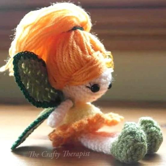 Calendula Crochet Fairy Doll