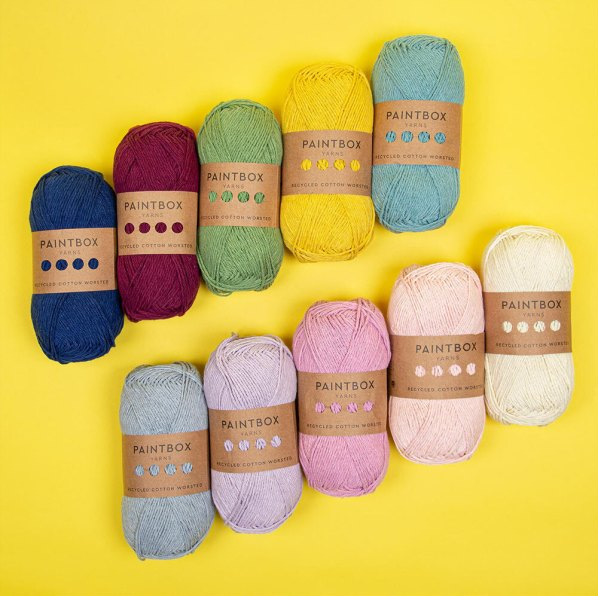 Paintbox Recycled Cotton Worsted