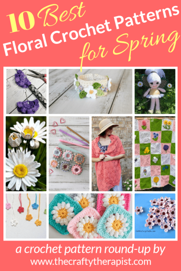 Pinterest graphic floral crochet patterns