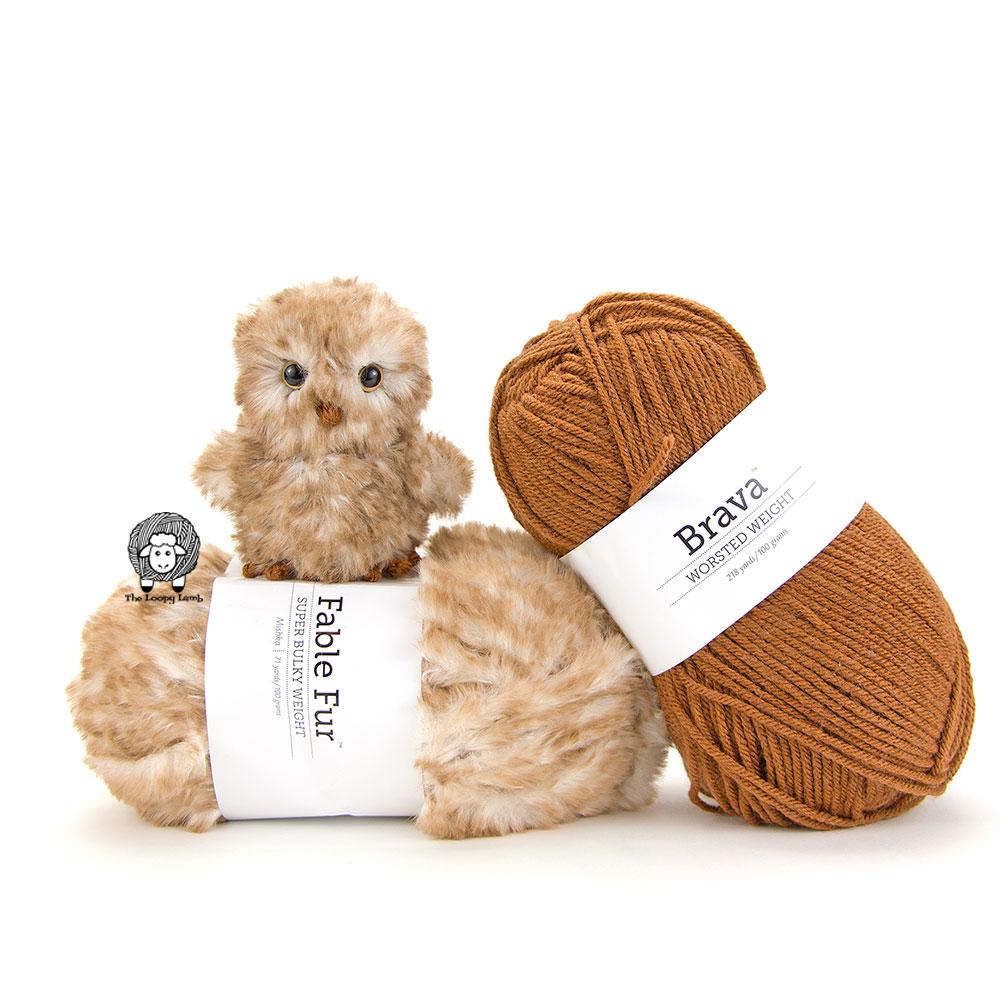 Otis the owl crochet pattern, featured free crochet pattern by the Loopy Lamb