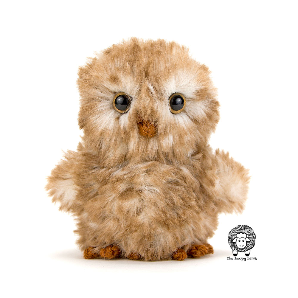 Otis the owl crochet pattern, featured free crochet pattern by the Loopy Lamb