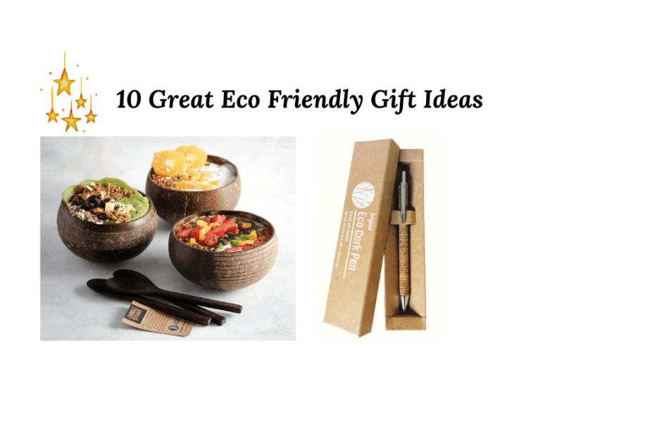 Ecofriendly gift ideas