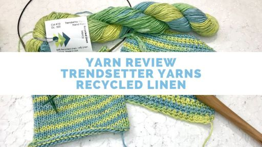 Trendsetter Yarn Recycled Linen recycled yarn