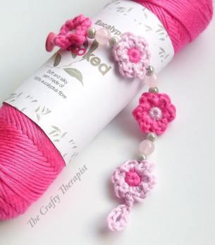 Spring Blossom Crochet Bracelet