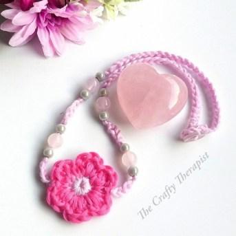 Flower Necklace crochet pattern
