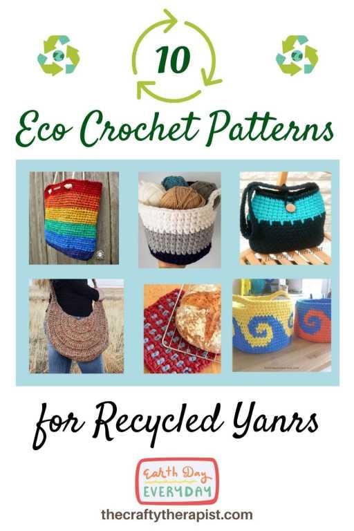 Pinterest Graphic Eco Crochet ideas