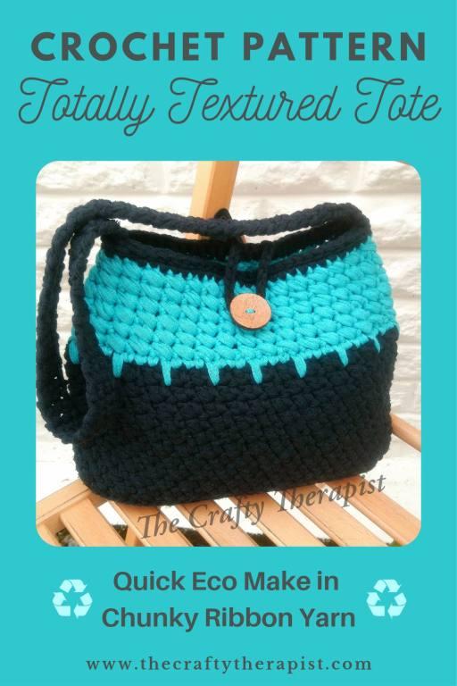 Pinterest graphic crochet bag