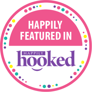 Featured in Happily Hooked badge. The Crafty Therapist