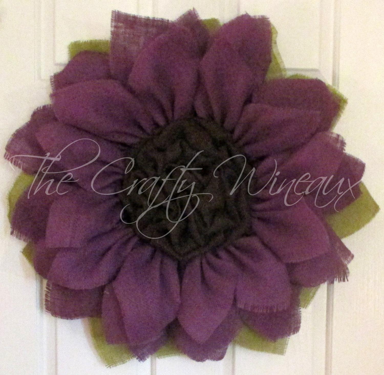Wreaths Purple Lime Green