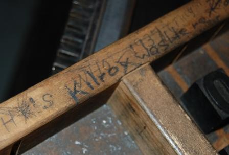 Typecase signed by Kilroy