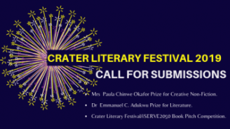 CraterLitFest19 Call for submissions | Crater Library
