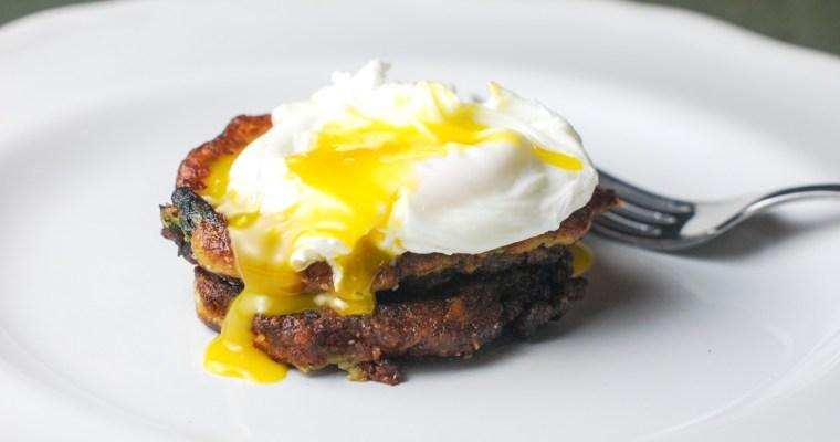 Breakfast Mashed Potato Cakes