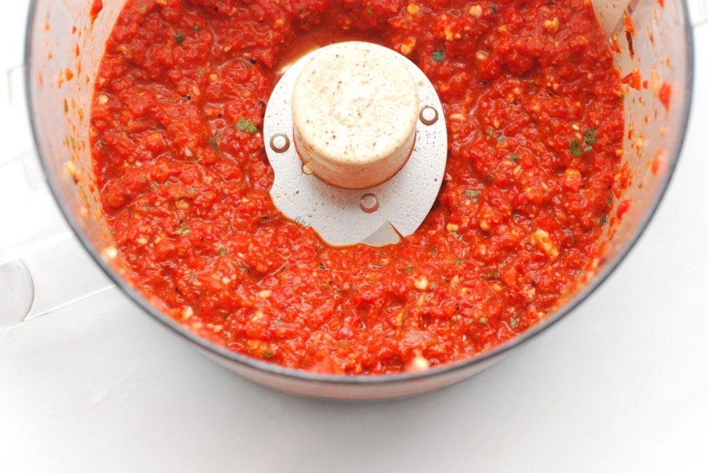 Roasted Red Pepper Alfredo
