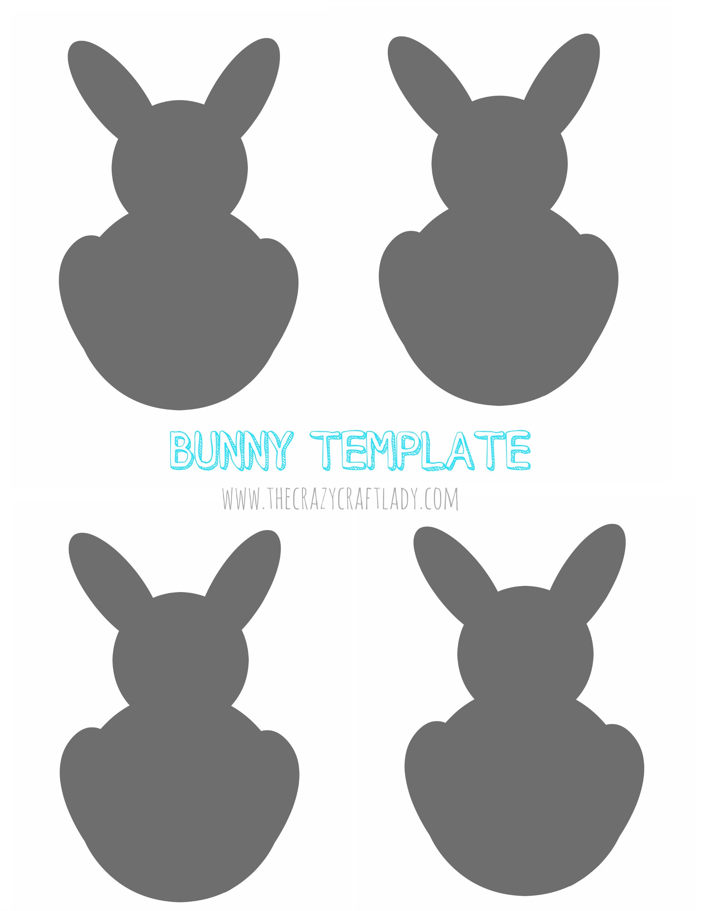 Simple Easter Bunny Garland Pb Inspired