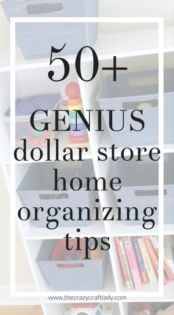 Dollar Store Organizing Organize Your Entire House With