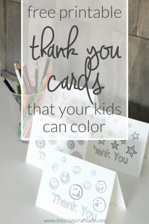 Printable Thank You Card Coloring Sheets   The Crazy Craft Lady Printable Thank You Card Coloring Sheets   free printable coloring sheets  for kids from The Crazy