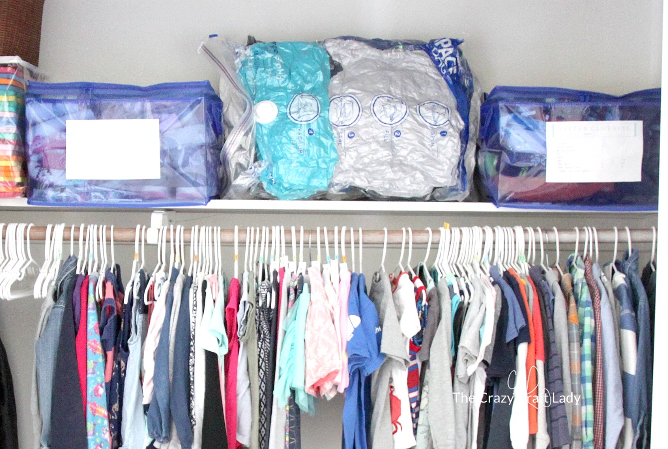 How To Store And Label Winter Clothing Using Space Bags