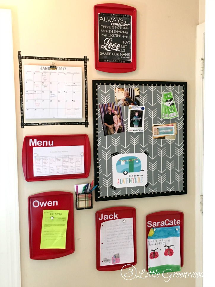 Genius Decorative Magnetic Boards Made From Dollar Store