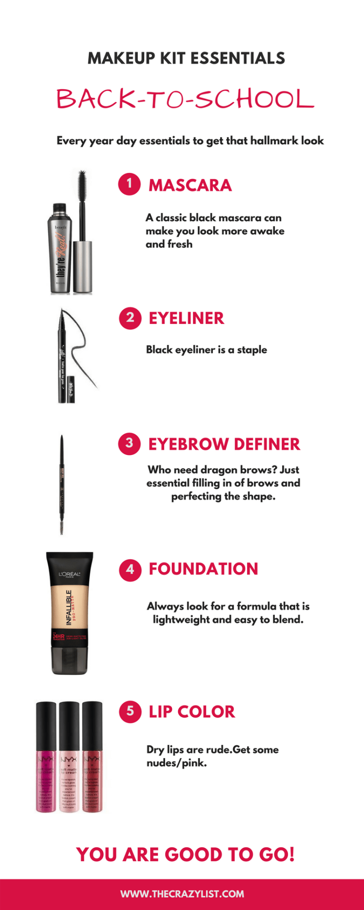 Back-To-School Makeup Kit Essentials