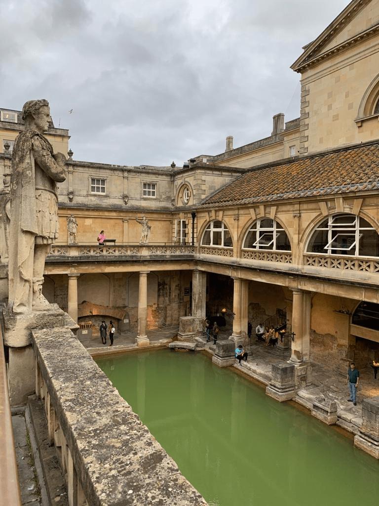 The Roman's Bath, England