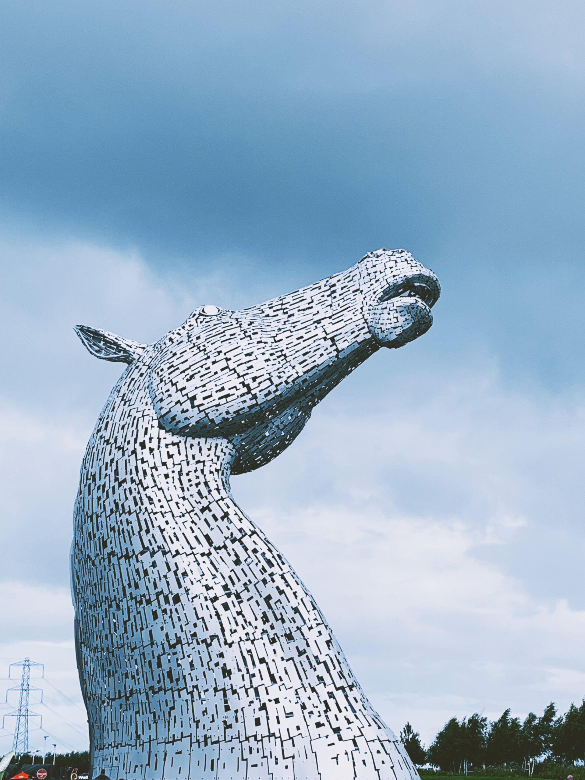 The Kelpies, Falkirk, U.K