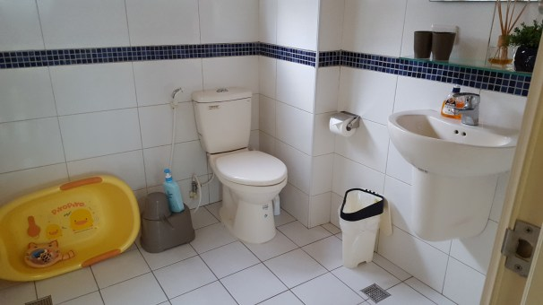 Deely's House toilet