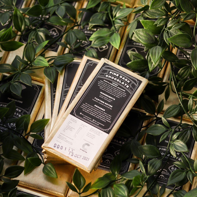 The Cream Store x Bullion Craft Chocolate - Fine Dark 1