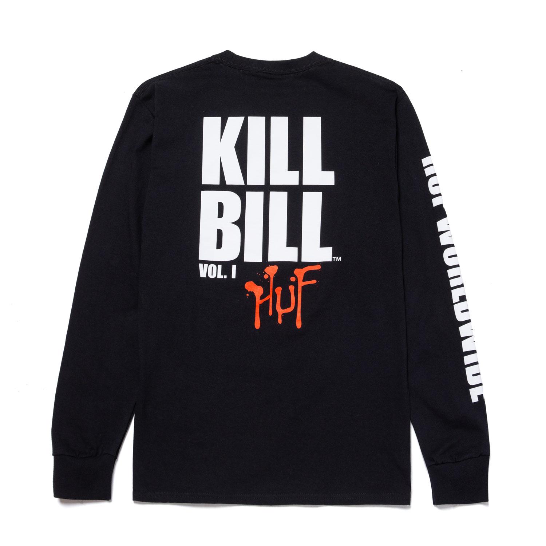 HUF X Kill Bill Black Mamba LS Tee - Black 1