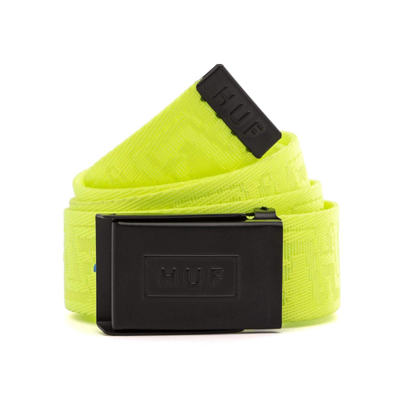 HUF Otis Scout Belt - Safety Yellow 0