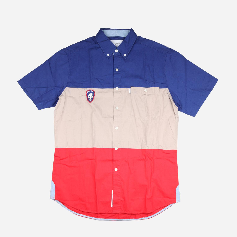 Crooks and Castles League S/S Shirt - Colour Block 0