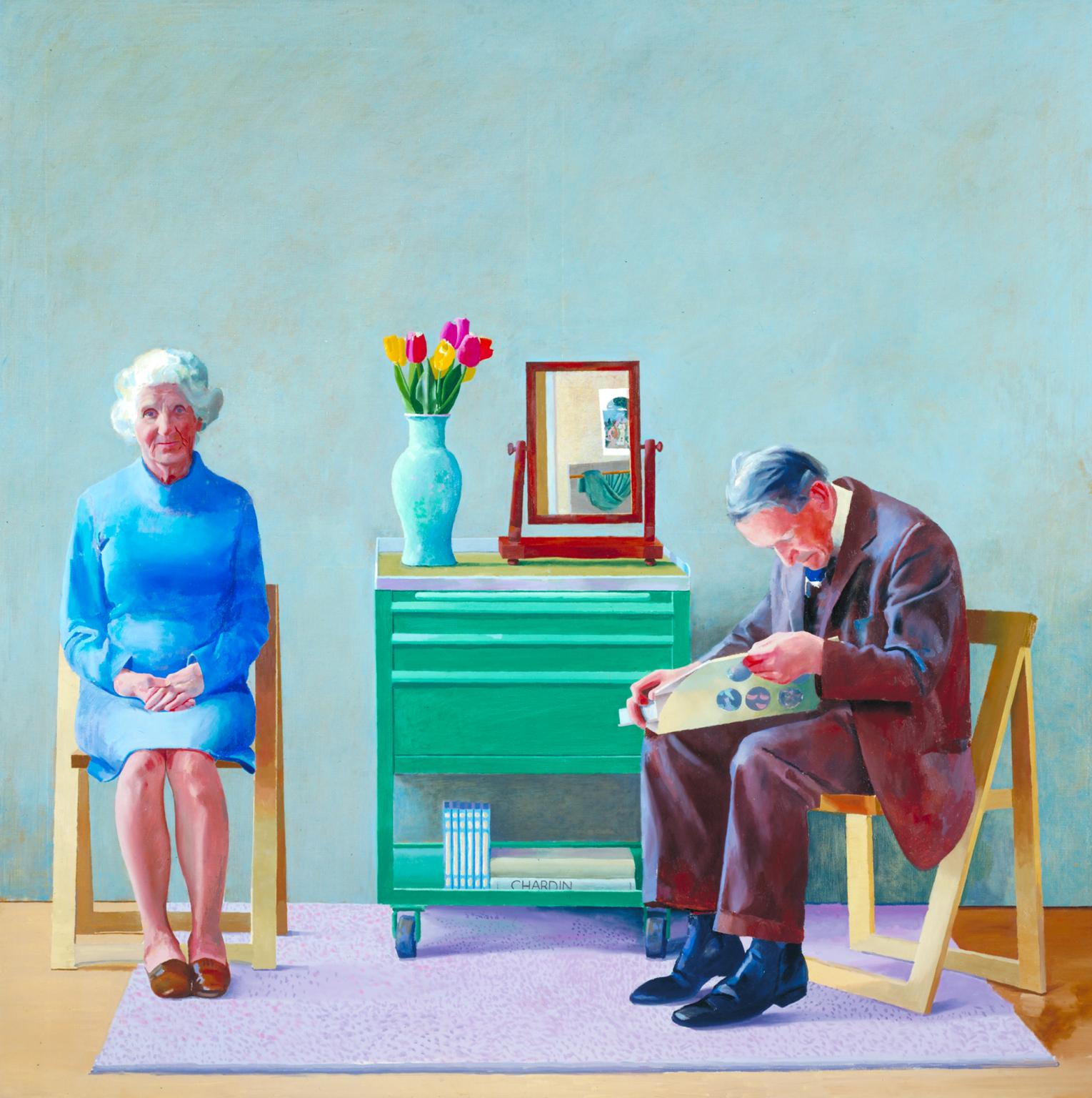 My Parents 1977 David Hockney born 1937 Purchased 1981 http://www.tate.org.uk/art/work/T03255