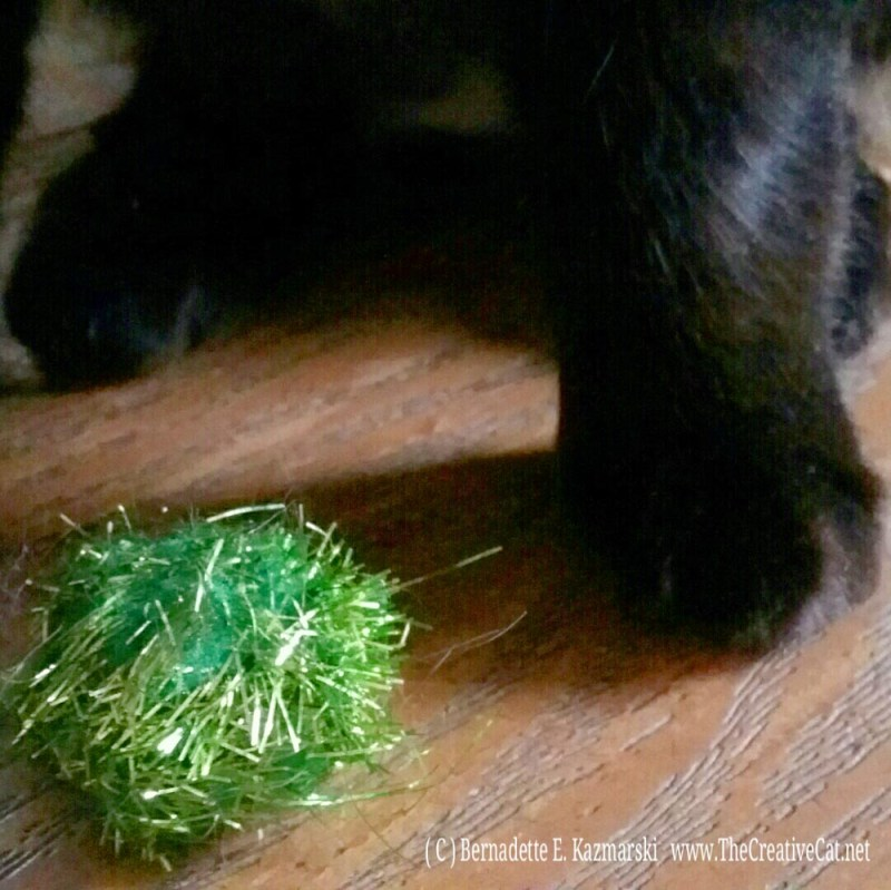 The sparkle ball, ancestral feline prey species.