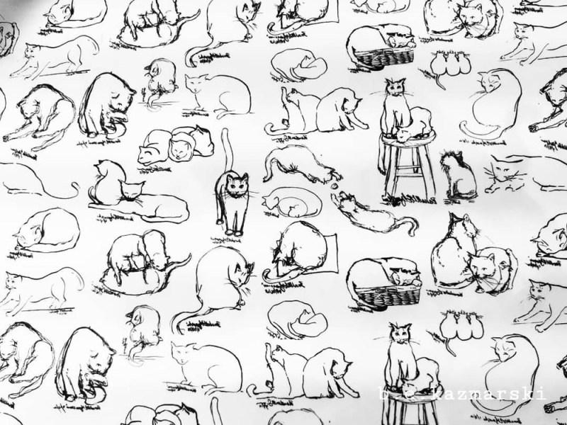 brushy kitties new pattern