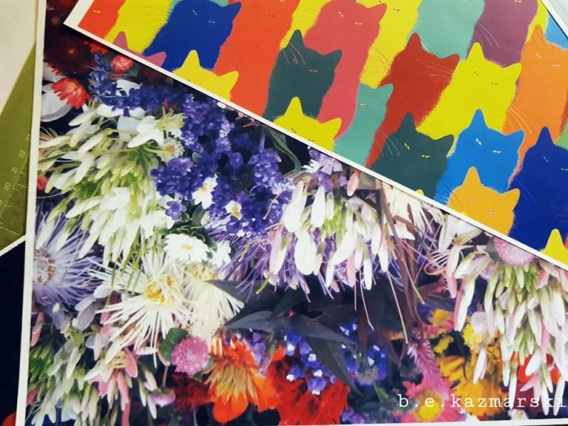 market flowers new pattern