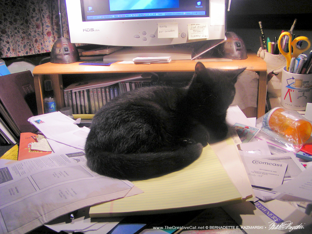From the Archives: Lucy on the Desk, and Four on the Floor