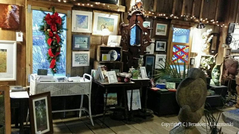 Part of my work at the Outlet Barn.