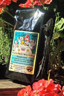 photo of bag of coffee