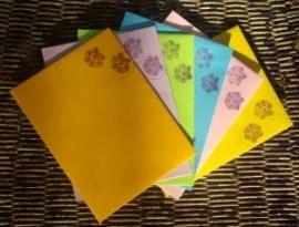 coordinating envelopes for summer brights notecards