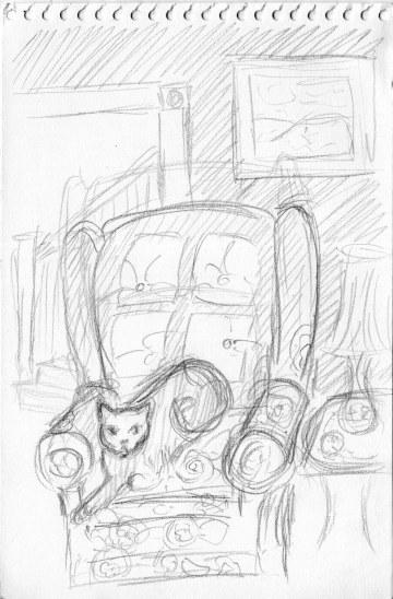 pencil sketch idea for illustration